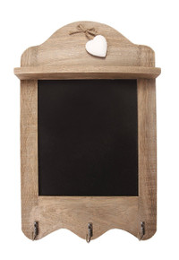 Scalloped blackboard
