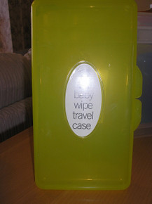 Brand New Baby Wipe Case Carry Along Box Changing Dispenser Home Holiday Use Wet Wipe Case (Yellow)