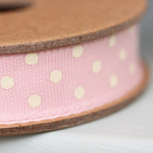 East of India 3M Dotty Ribbon-Pink by East of India