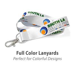Full Color Sublimation Lanyards