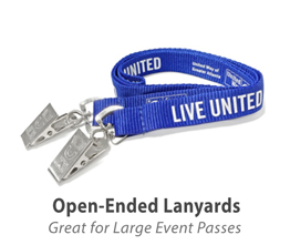 Double Open Ended Lanyards