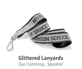 Glittered Lanyards