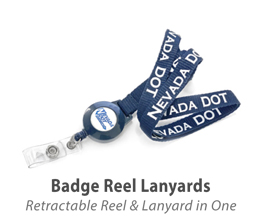 Badge Reel Lanyards
