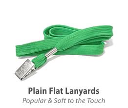 Plain Flat Lanyards