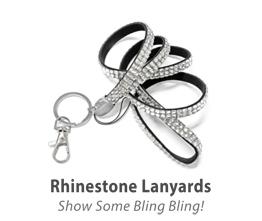 Rhinestone Lanyards