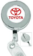 #349 - Metal Chrome Badge Reel