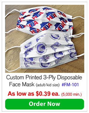 Custom Printed Disposable Face Masks