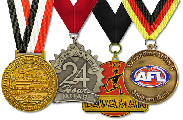 Fully Customized Medals - request for a free digital proof today
