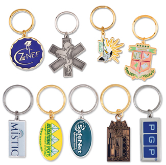 Metal Products - Custom Keychains - Metal Keychains - Kenny