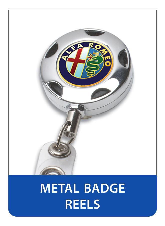 Printed Metal Retractable Badge Reels