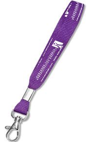 "5/8"" Wide Screen-Printed KEYCHAIN Lanyard"