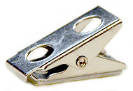 Bulldog Clip with Adhesive Pad, 1""