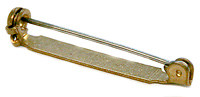 Brass Bar Pin, 1.5""