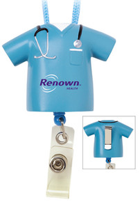 Medical Retractable Badge Holder