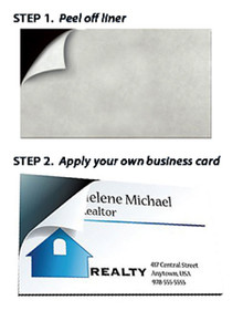 Peel & Stick Business Card Magnets