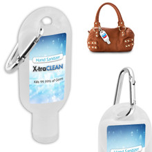 1 oz. Hand Sanitizer Gel w/ Carabiner