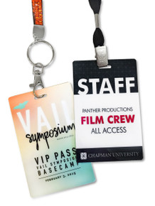 """Event Badge Credential Cards, Full Color - 4.25"""" x 2.75"""""""