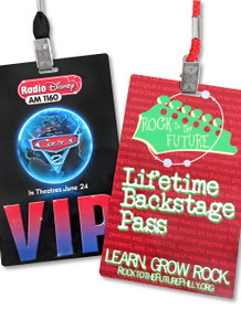 """Event Badge Credential Cards, Full Color - 5.5"""" x 3.5"""""""