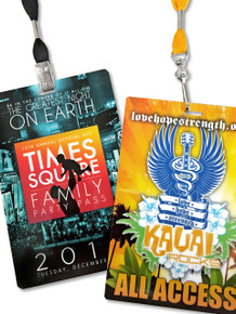 """Event Badge Credential Cards, Full Color  - 6"""" x 4"""""""
