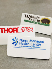 "Name Tags - Full Color Plastic (1-1/2""X3"")"
