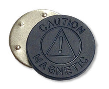 Round Badge Magnet, 11/16""