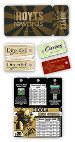 Card/Keytag Combinations - Triple CBO