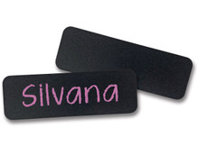 "Chalkboard Reusable Name Tags (1""X3"")"