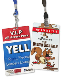 Conference Badges And Laminated Passes