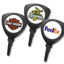 3-Sided ID Badge Reel with Twist-Free Plastic Hook - Full Color Printed