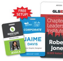 """Personalized ID Card, Full Color - 4.25"""" x 2.75"""""""