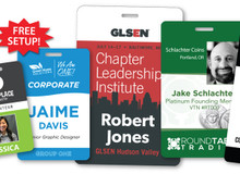 """Personalized ID Card, Full Color - 6"""" x 4"""""""