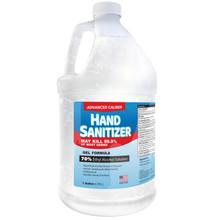 Advanced Caliber GEL Hand Sanitizer 1 Gallon Bottle 70% Alcohol - 1 Case of 4 Bottles
