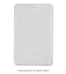 """4.0""""x2.5"""" Vertical Card Holder with Slot"""