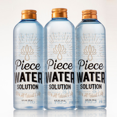Piece Water The BongWater Replacement (3 Bottles)