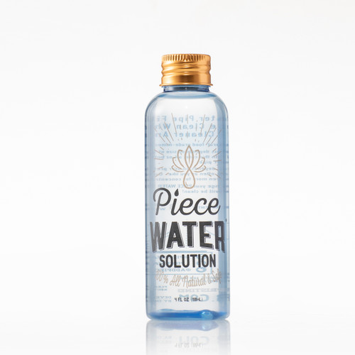 Piece Water Solution | The Bong Water Alternative Rig Size Bottle
