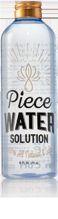 Piece Water | All Natural Bongwater Alternative