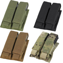 Condor MA23 MOLLE Double Pistol Mag Pouch- OD Green/ Black/ Coyote Brown/ MultiCam