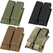 Condor MA23 MOLLE Double Pistol Mag Pouch- OD Green/ Black/ Coyote Brown/ MultiCam