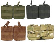 CONDOR MA24 MOLLE Double 7.62 NATO 308 Open Top Magazine Pouch- OD Green/ Black/ Coyote Brown/ MultiCam