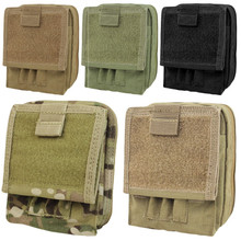 Condor MA35 MOLLE Modular MOD Tactical Map ID Admin Chart Pouch- OD Green/ Black/ Coyote Brown/ MultiCam