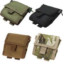Condor MA36 MOLLE Tactical Roll-Up / Foldable Utility Dump Pouch- OD Green/ Black/ Coyote Brown/ MultiCam
