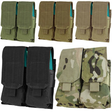 Condor MA4 Double .223 or 5.56mm Magazine Pouch- OD Green/ Black/ Coyote Brown/ MultiCam