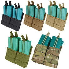 Condor MA43 Double Stacker .223 or 5.56mm Magazine Pouch- OD Green/ Black/ Tan/ Coyote Brown/ MultiCam