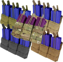 Condor MA44 Triple Stacker .223 or 5.56mm Magazine Pouch- OD Green/ Black/ Coyote Brown/ MultiCam
