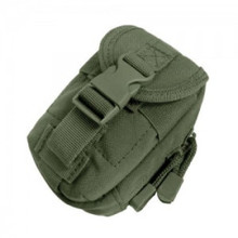 Condor MA45 MOLLE iPod iTouch iPhone Phone GPS Camera Pouch Holster Bag- OD Green/ Black/ Tan