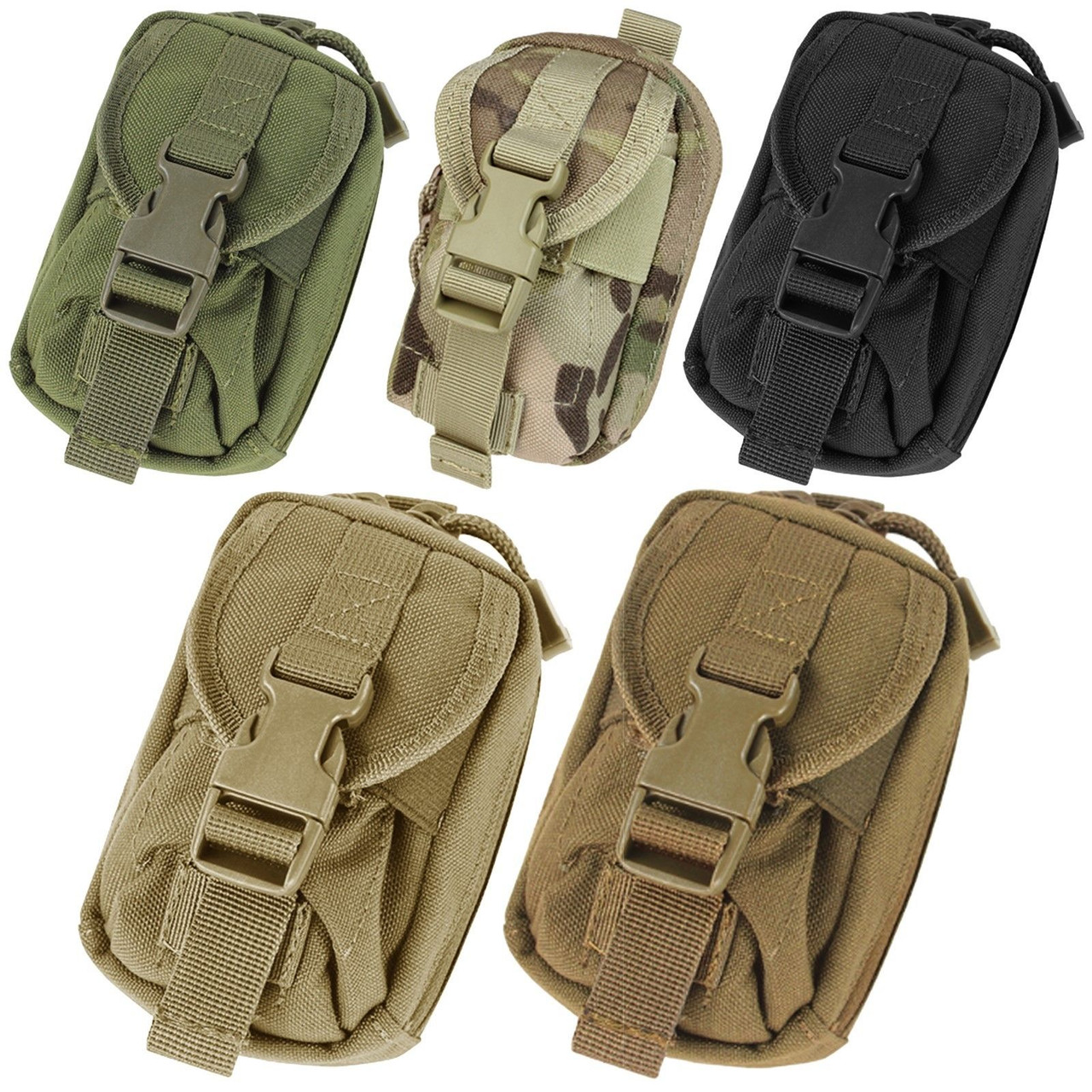 Condor US1021 Tan Single 1 One Point Bungee Tactical .223 5.56 Rifle Sling Strap