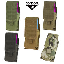 Condor MA5 Single .223 or 5.56mm Magazine Pouch- OD Green/ Black/ Coyote Brown/ MultiCam