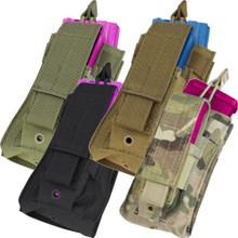 Condor MA50 Kangaroo .223 or 5.56mm & Pistol Magazine Pouch- OD Green/ Black/ Coyote Brown/ MultiCam