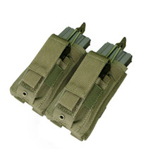 Condor MA51 Double Kangaroo .223 or 5.56mm & Pistol Magazine Pouch- OD Green/ Black/ Tan