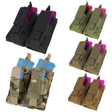 Condor MA51 Double Kangaroo .223 or 5.56mm & Pistol Magazine Pouch- OD Green/ Black/ Tan/ Coyote Brown/ MultiCam